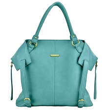 Timi & Leslie Charlie 7-Piece Diaper Bag Set - Teal