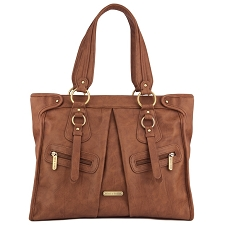 Timi & Leslie Dawn 7-Piece Diaper Bag Set - Caramel
