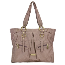 Timi & Leslie Dawn 7-Piece Diaper Bag Set - Taupe