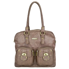 Timi & Leslie Rachel 7-Piece Diaper Bag Set - Taupe