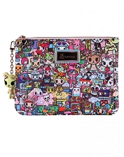 Tokidoki Zip Pouch - Kawaii Metropolis Collection
