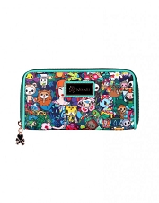 Tokidoki Long Wallet - Rainforest Collection