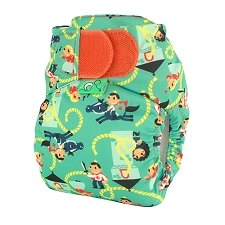 Tots Bots TeenyFit Newborn Cloth Diaper