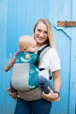 Tula Free-to-Grow Baby Carrier - Coast Narwhal