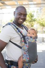 Tula Free-to-Grow Baby Carrier - Coast Stamps - EST. SHIPPING ON SEPT 22