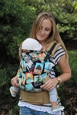 Tula Baby Carrier - Travel Bug