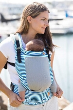 Tula Free-to-Grow Baby Carrier - Coast Seaport