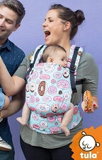 Tula Free-to-Grow Baby Carrier - Glazed
