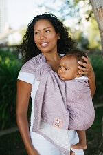 Tula Wrap Conversion Ring Sling - Lexington Lilac