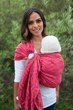 Tula Wrap Conversion Ring Sling - Migaloo Sorbet