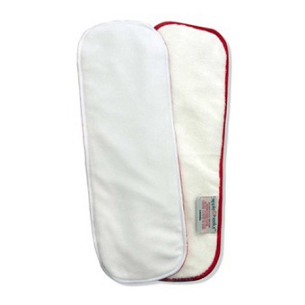 AppleCheeks One Size Stay-Dry Microterry Inserts - 2 Pack