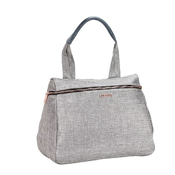 Lassig Glam Diaper bag - Anthracite Glitter