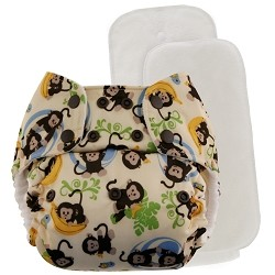 Blueberry One Size Deluxe Pocket Diaper
