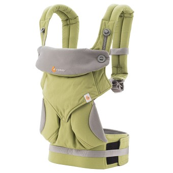 ERGObaby Four Position 360 Baby Carrier - Green