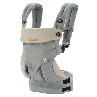 ERGObaby Four Position 360 Baby Carrier - Grey