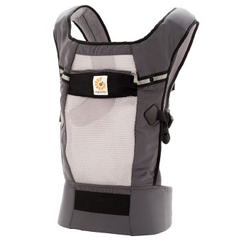 ERGObaby Performance Baby Carrier - Ventus Graphite
