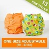 Fuzzibunz One Size Adjustable Pocket Diaper (10-40 lbs) - 2015 New Design