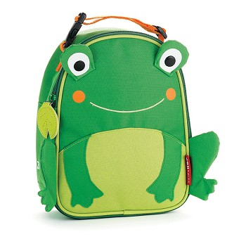 Skip Hop Zoo Lunchies Insulated Lunch Bags - Frog
