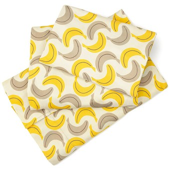 Skip Hop Zoo 3PC Toddler Sheet Set - Monkey