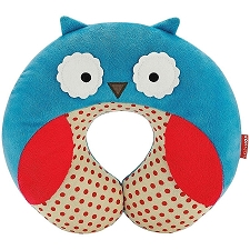 Skip Hop Zoo Travel Neckrest for Kid - Owl