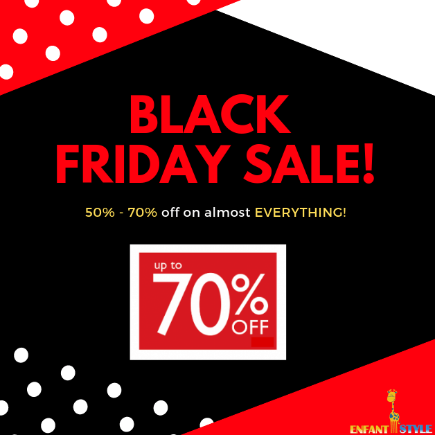 black friday sales at enfant style