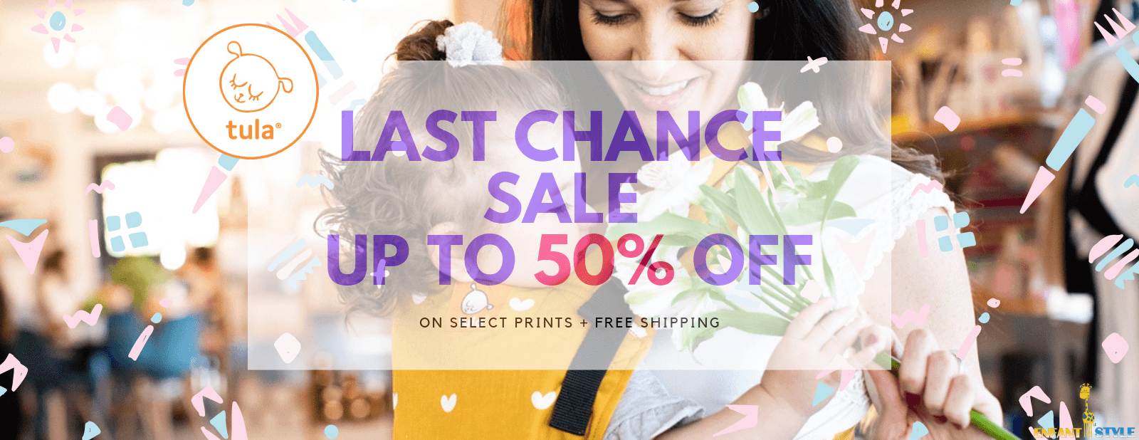 tula baby carrier boxing day sale at Enfant Style