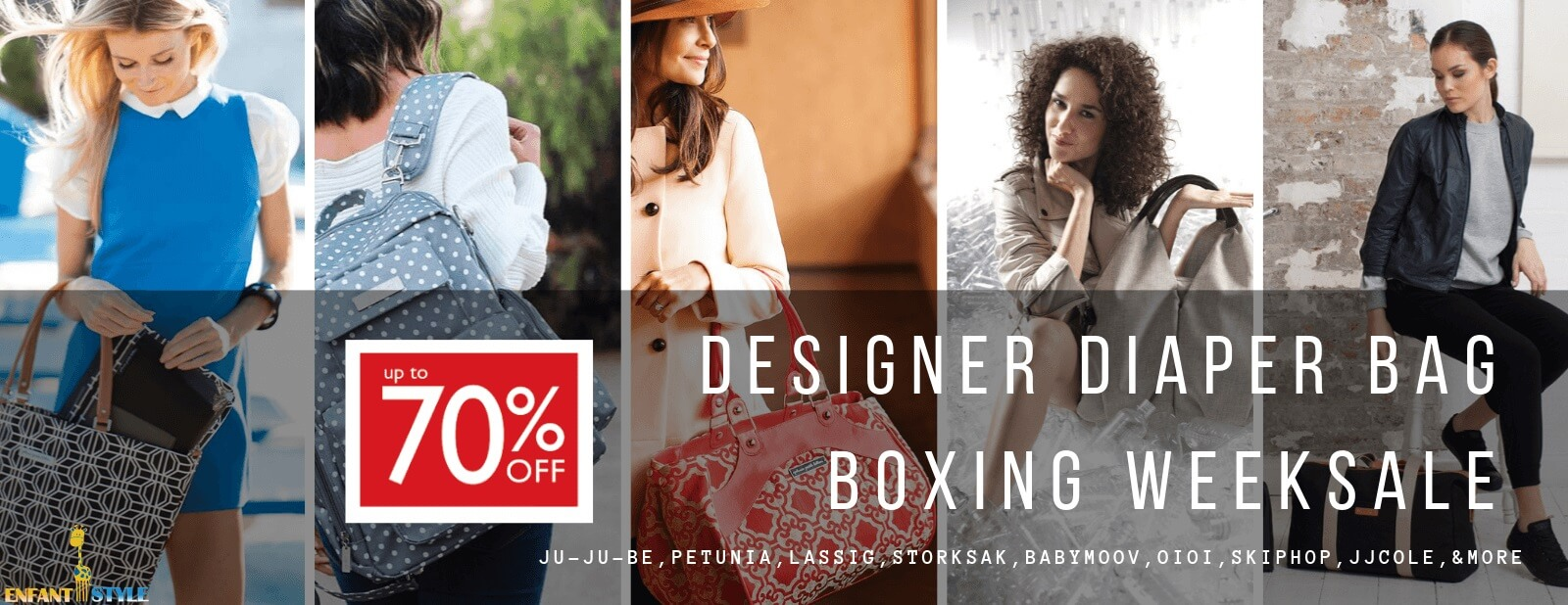 diaper bag boxing day sale