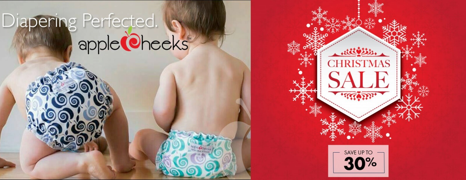 applecheeks cloth diapers christmas boxing week sale