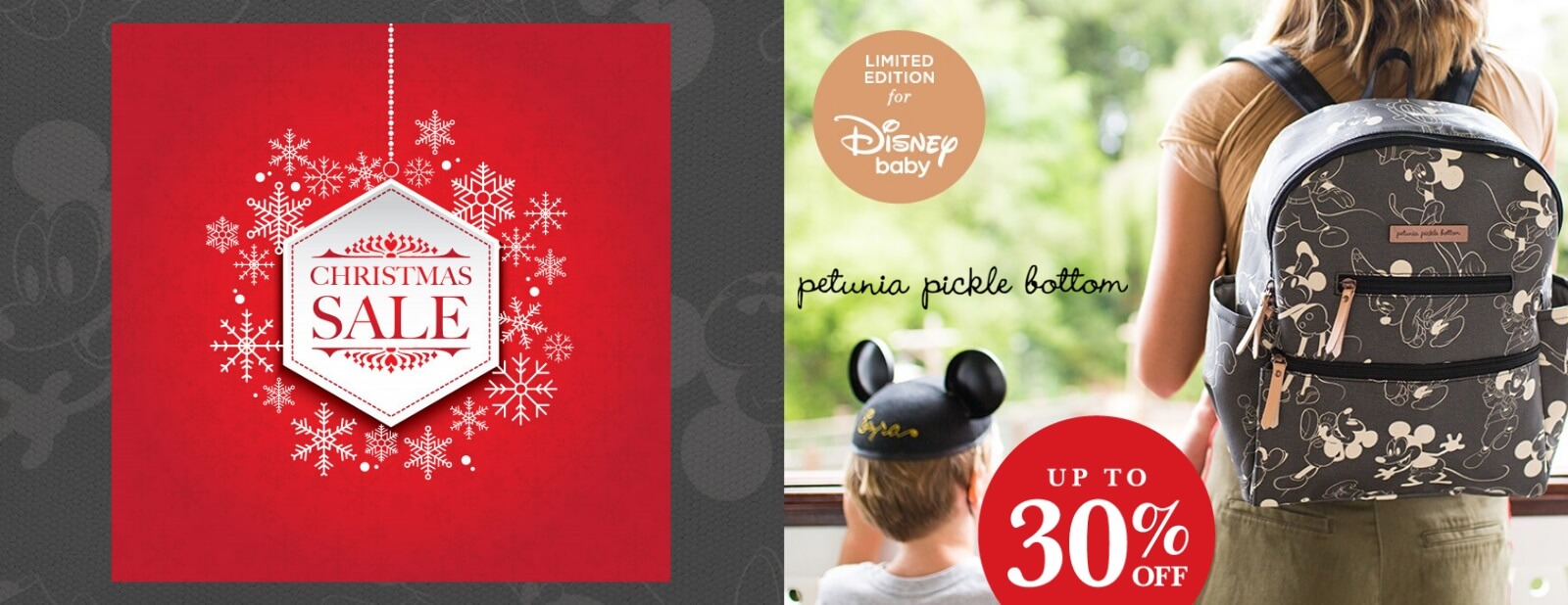 petunia pickle bottom mickey and minnie designer diaper bag christmas boxing week sale