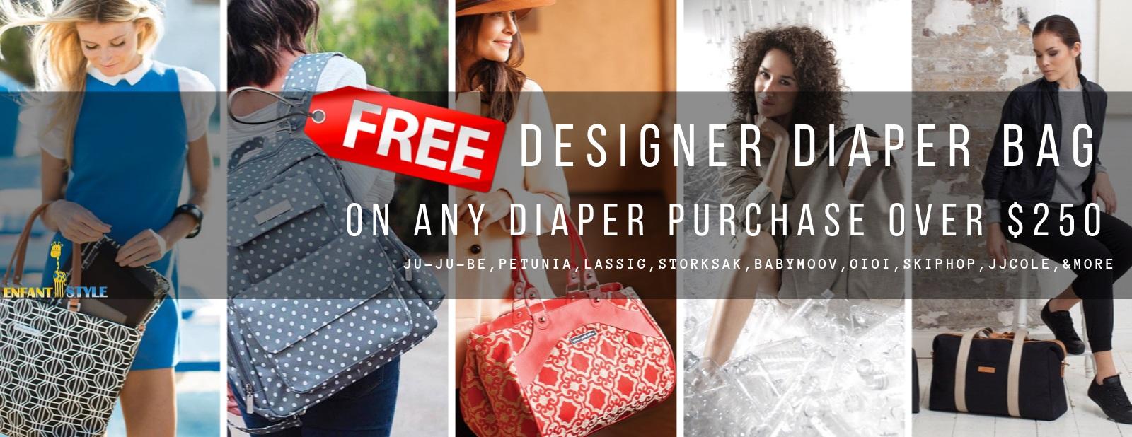 free diaper bag sale