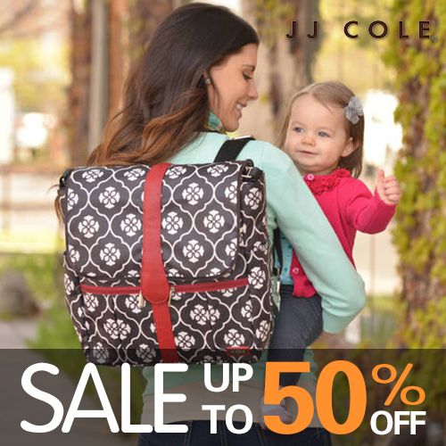 warehouse clearance sales - jjcole diaper bag
