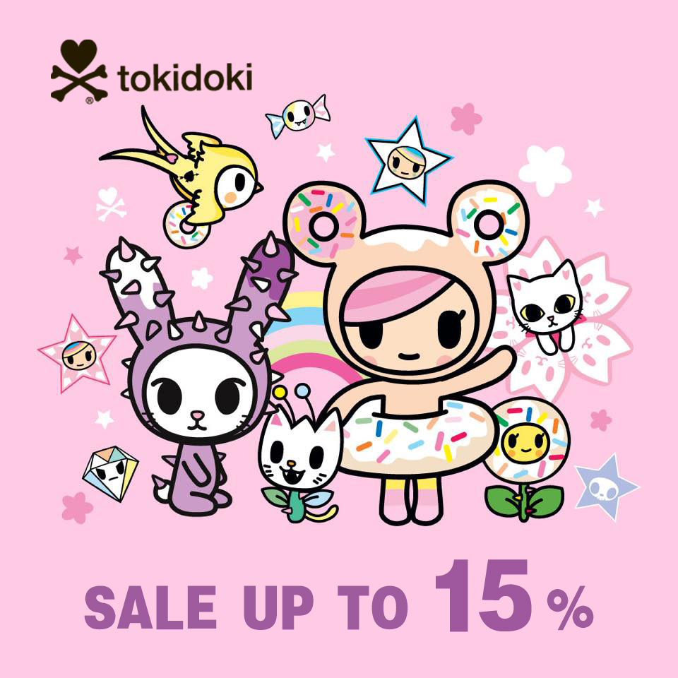 warehouse clearance sales - tokidoki