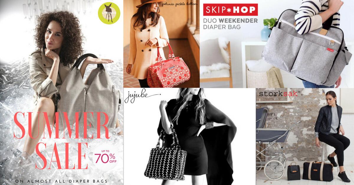 diaper bag summer sale