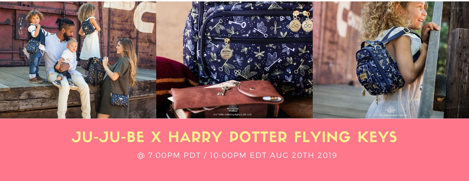 jujube x harry potter flying keys release
