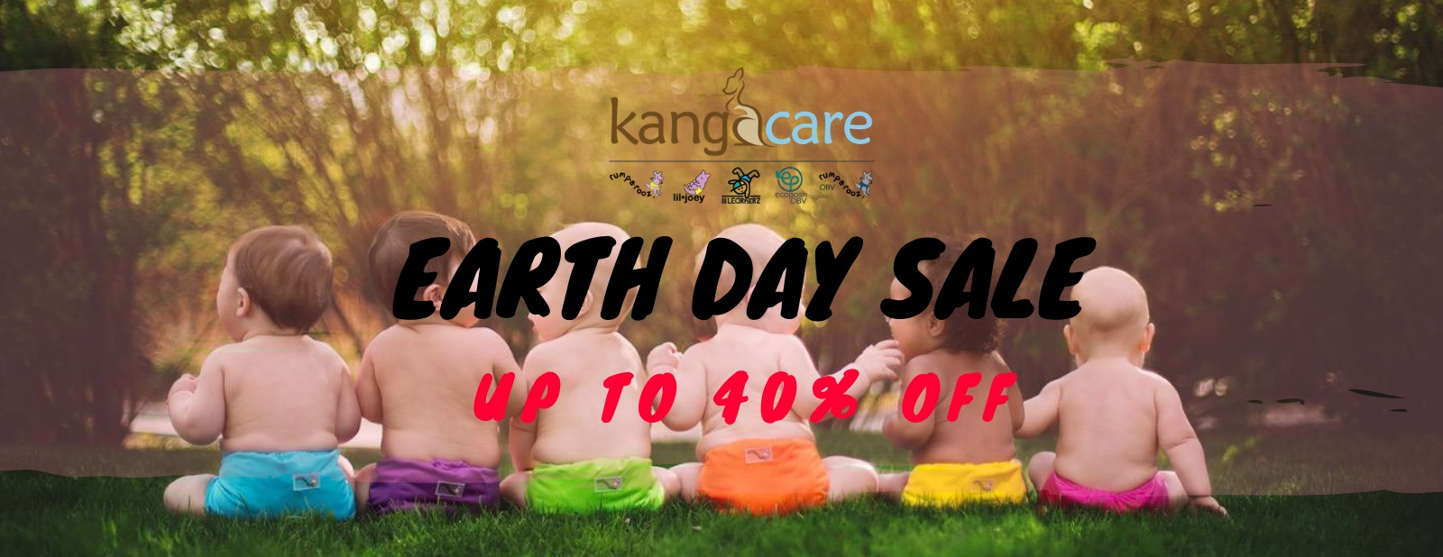 kangacare earth day sales at Enfant Style