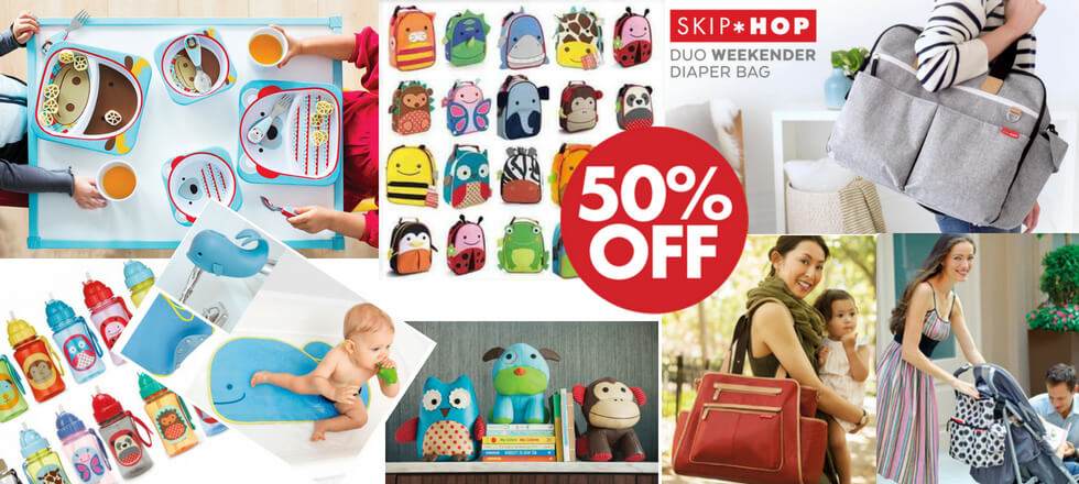 skip hop diaper bags and baby accessories