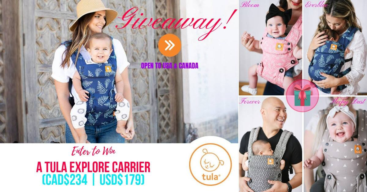 tula explore baby carrier giveaway