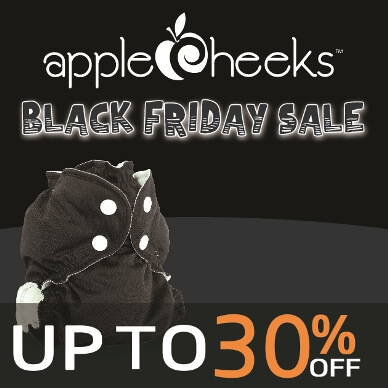 BLACK FRIDAY sales - applecheeks Cloth Diapers
