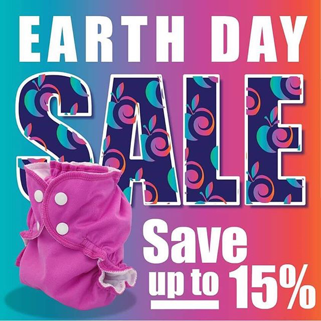 earth day sales - applecheeks Cloth Diapers