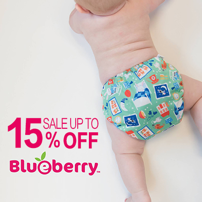 earth day sales - blueberry Cloth Diapers