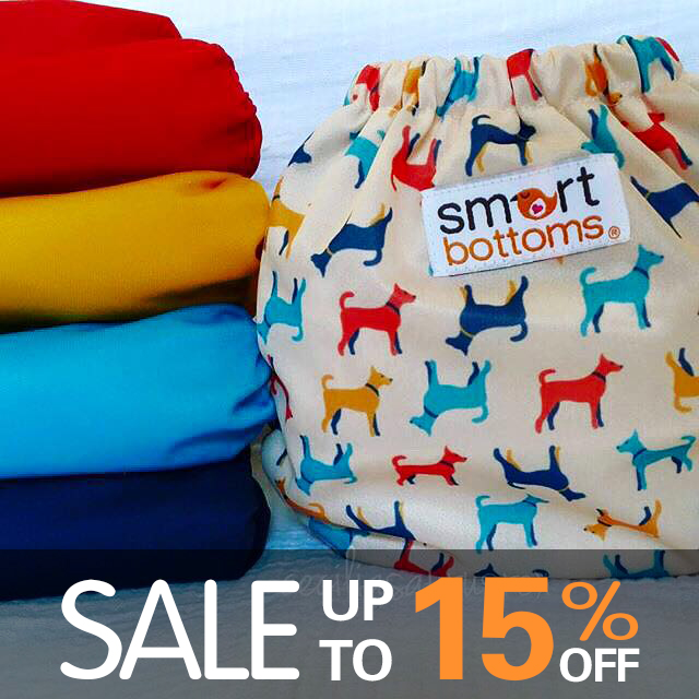 earth day sales - smart bottoms cloth diapers
