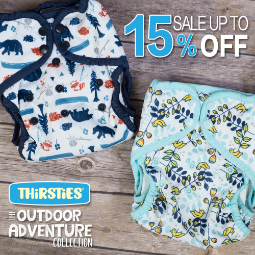 earth day sales - thirsties cloth diapers
