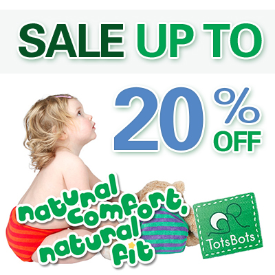 boxing day sales - tots bots Cloth Diapers