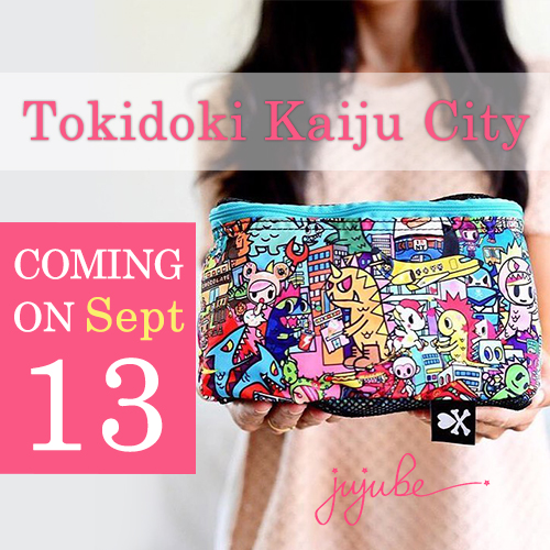 ju ju be tokidoki kaiju city launch
