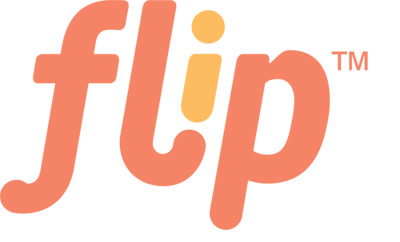 flip cloth diapering system logo
