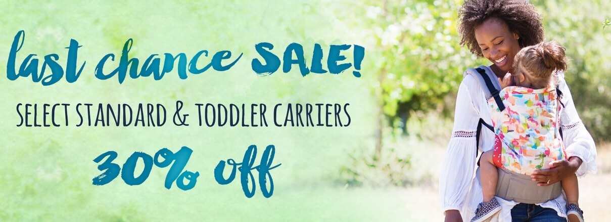 tula carrier sales at Enfant Style