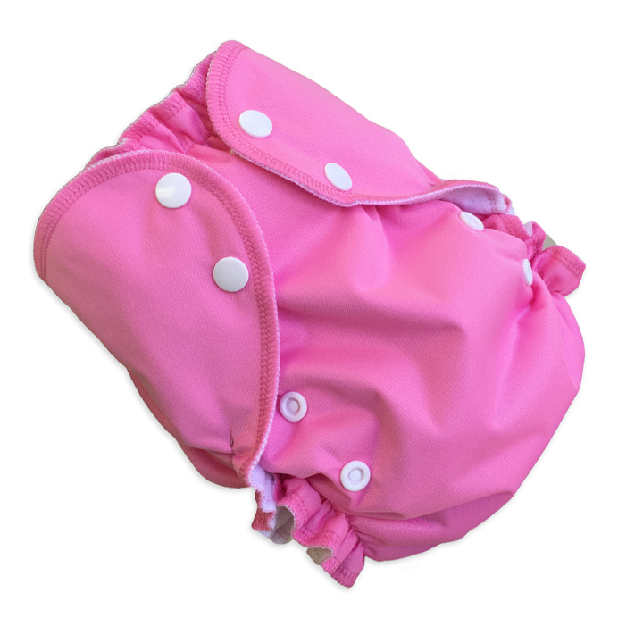 amp cloth diaper - BUBBLE GUM