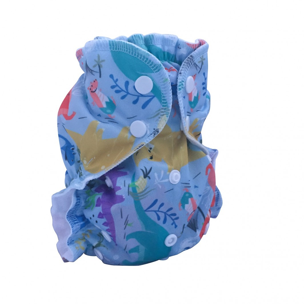 applecheeks one size cloth diaper cover - you rock