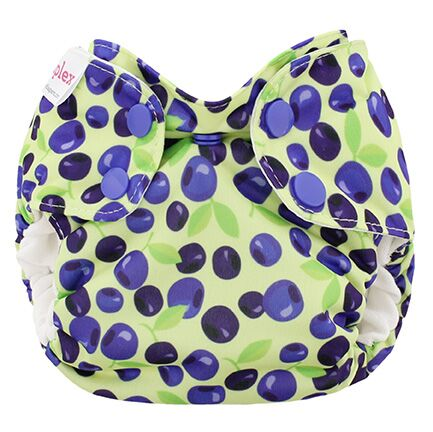 blueberry simplex newborn all in one diaper - Blueberries