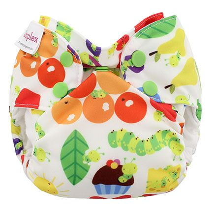 blueberry simplex newborn all in one diaper - Picnic